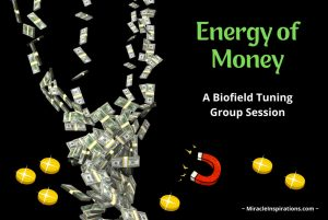 energy of money, attract, magnet, coins, bills falling